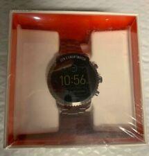 Fossil Q Gen 3 Smartwatch FTW4001 Smoke Explorist Stainless Stell Strap watch