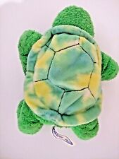 """VERY CUTE 2002 Mary Meyer 10"""" Plush Green Turtle H1"""