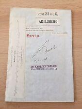 Umgebungskarte 1900-Adelsberg/Postojna/Slowenien -1:75000-Zone 22 Kol.X-Papier
