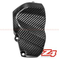 2006 2007 ZX-10R Side Engine Sprocket Chain Case Cover Guard Cowl Carbon Fiber