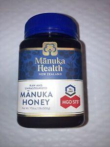 Manuka Health New Zealand Raw & Unfiltered Manuka Honey MGO 573  17.6oz