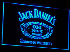 Jack Daniel's Whiskey Bar Beer Neon Light Led Sign With On/Off Switch 7 Colors