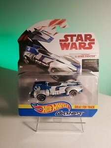 HotWheels Disney STAR WARS CarShips Resistance A-Wing Fighter Die-Cast New