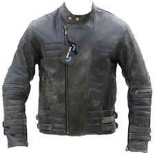 Giacca motociclista, Giacca, pelle, MOTO, Giacca di pelle SD502, tg. gr.2xl