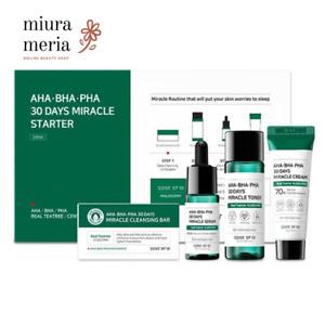 SOME BY MI AHA, BHA, PHA 30 Days Miracle Starter Limited Set [4 pcs]