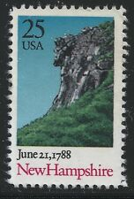 US Scott #2344, Single 1988 New Hampshire 25c VF MNH