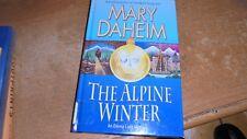 Alpine Winter by Mary Daheim (2012, Hardcover, Large Type  +