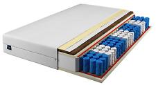 Tanato colchón 90x200 plus 7 bolsillos zonas núcleo del muelle h2 h3 coco Dick 24 cm