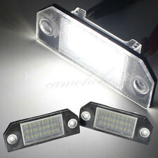 No Error LED License Number Plate Light For Ford Focus MK2 03-08 / CMAX 03-