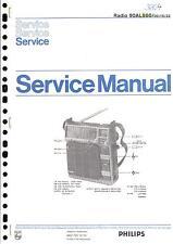 Philips Original Service Manual für  90 AL 860