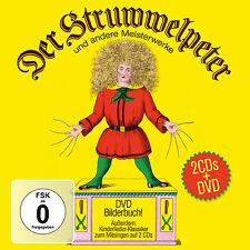 CD DVD Der Struwwelpeter Und Andere Meisterwerke von Heinrich Hoffmann DVD+2CDs