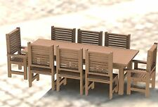 8ft Redwood Patio Table with Chairs Step by Step Building Plans