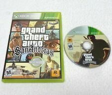 GTA Grand Theft Auto San Andreas (Xbox 360, 2015) No Manual/Map, Works Perfectly