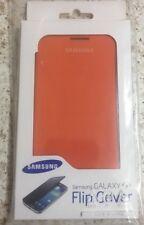 Genuine Samsung Flip Cover Book Case EF-FI950BO For Galaxy S4 i9500 i9505-Orange