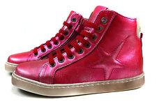 Bisgaard Encaje Niños Cuero Mitad zapatos chica deportiva Joven gr.26-36