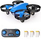 SNAPTAIN SP350 Drone for Kids/Beginners Portable RC Quadcopter with 3 Batteries