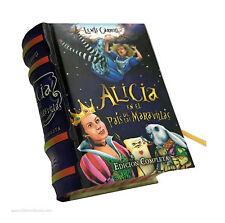 Alicia en el pais de las maravillas Miniature Book en Español edición completa
