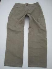 Mens 34x30 Kuhl Kuhldry light gray cotton nylon pants