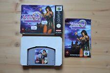 N64-Xena: Warrior Princess - (OVP, con instrucciones)