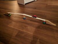 Wooden Track Railway Thomas Brio ikea lego duplo bridge adapter printed in wood