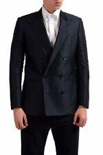 Maison Martin Margiela Men's Silk Double Breasted Sport Coat Blazer US 38 IT 48