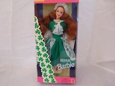 1994 Irish Barbie from Dolls of the World Collection Special Edition !