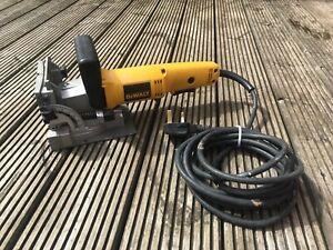 Dewalt Corded 230v Biscuit/ Plate Jointer. 600W. DW682.