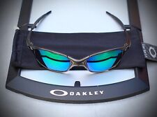 Oakley X-metal Juliet Carbon with jade green lenses. MINT!