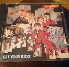 Fancy – Get Your Kicks - Cd Album- Metronome 1985 - 8 Tracks West Germany Rare