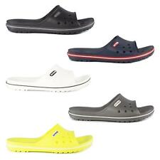 Crocs CROCBAND SLIDE Unisex Mens Womens Summer Sliders Mule Flip Flops Sandals
