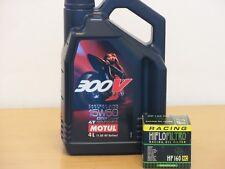 Motul Öl 300V 15W-50 / Racing - Ölfilter BMW F650 GS Bj 08-12 / F700 GS ab Bj 13