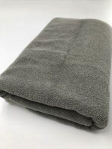 CB2 Bamboo Gray Bath Towel Sheet