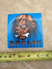 Zorlac Skateboards Vintage Sticker Shrunken Voodoo Head