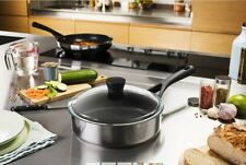 Pyrex Expert Touch Sauce Pan With lid INDUCTION Stainless Steel NEW 24cm