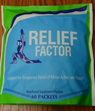 RELIEF FACTOR 60 pack, Original sealed package!