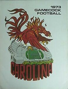 1973 SOUTH CAROLINA GAMECOCKS FOOTBALL MEDIA GUIDE