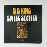 B.B. KING Sweet Sixteen KST568 LP Vinyl VG+ Cover VG+ Cut Corner