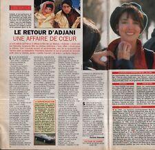 Coupure de presse Clipping 1993 Isabelle Adjani  (1 page)