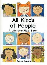 All Kinds of People: a Lift-the-Flap Book, Good Condition Book, Emma Damon, ISBN