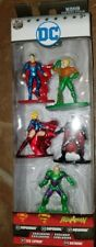 Nano Metalfigs DC 5-pack Collector Set 100% Die-cast Metal Justice League