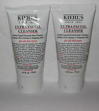 2 Kiehl's Ultra Facial Cleanser All Skin Types 2.5 oz each totals 5 oz Sealed