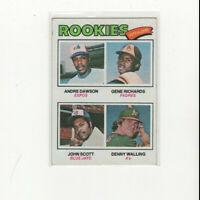 1977 Topps Andre Dawson Rookie Card! The HAWK! RC! MVP HOF VG/EX Expos Cubs