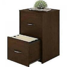Ameriwood 2 Drawer Cabinet File Office Wood Storage Home Furniture Cherry NEW