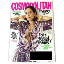 HALSEY COSMOPOLITAN MAGAZINE OCTOBER 2019 FALLS COOLEST BEAUTY TRENDS NEW