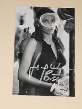 Actress JACQUELINE BISSET Signed THE DEEP 4x6 Photo AUTOGRAPH 1E