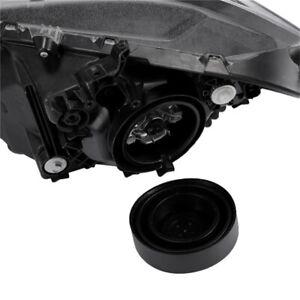 2Pcs Car Headlight Rubber Seal Dust Cover Retrofit 55mm/70mm/80mm/90/95mm Kit