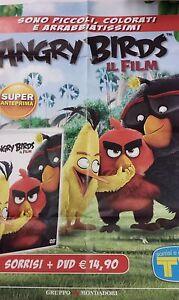 Locandina edicola-poster 80X90:DVD ANGRY BIRDS IL FILM.MONDADORI
