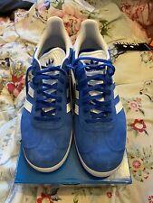 Adidas Gazelle Bluebird C/W size 9