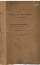 RIANT - DES DEPOUILLES ENLEVEES A CONSTANTINOPLE - LIVRE ANCIEN XIX ème RELIGION