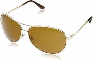 NEW Tom Ford Gold Charles Aviator Sunglasses Polarized Lens Category 3 FT003528H
